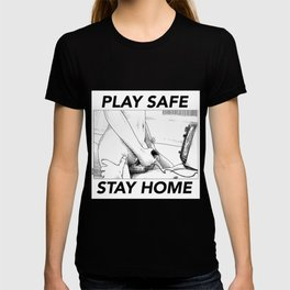 asc 443 - Le joystick (Toying with Pong) STAY HOME T-shirt
