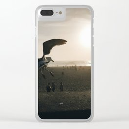 dust Clear iPhone Case
