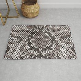 Luxury Snakeskin Pattern Rug