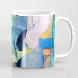 The Woman At The Well - Diego Rivera Coffee Mug