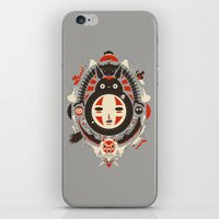 miyazaki iPhone & iPod Skins featuring A New Wind by Danny Haas