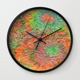 Play In Your Empty Garden Wall Clock