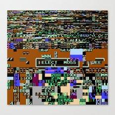 Elect Moss Canvas Print