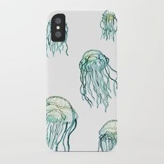 Jellyfish dreams iPhone X Slim Case
