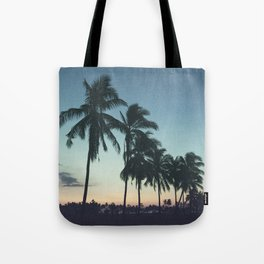 Tropical sunsets Tote Bag