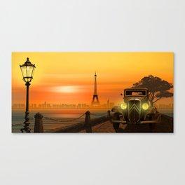 Paris Nostalgia Canvas Print