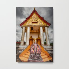 Somdet Temple Metal Print