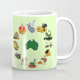 Snacks of Life: Australia Coffee Mug
