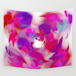 swirl of birds, abstract Wall Tapestry