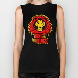 King of the Bongo Biker Tank