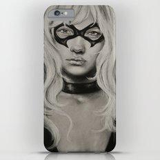 Black Cat iPhone 6 Plus Slim Case