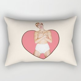 Miley #4 Rectangular Pillow
