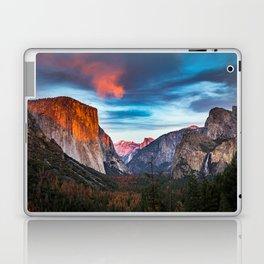 Yosemite tunnel view at sunset Laptop & iPad Skin