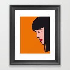 Pop Icon - Mia Framed Art Print
