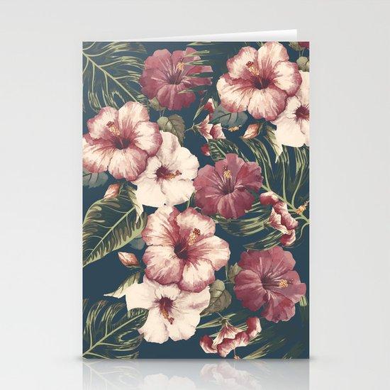 Flower pattern A Stationery Cards