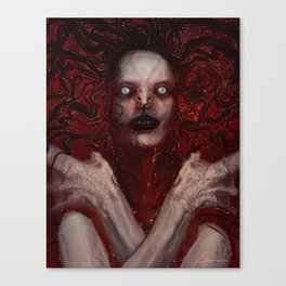 The Queen of Blood Canvas Print