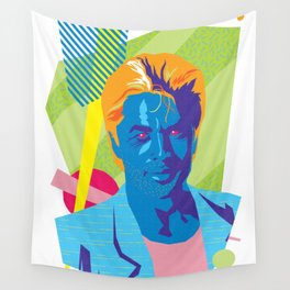 SONNY :: Memphis Design :: Miami Vice Series Wall Tapestry