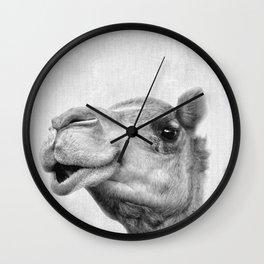 Camel Headshot Wall Clock