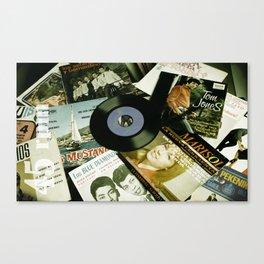 45 rpm. Canvas Print