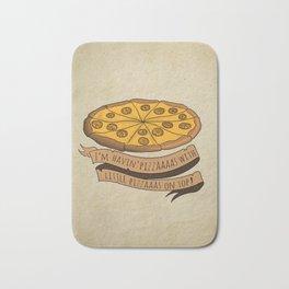 Donald Trump Pizza Bath Mat
