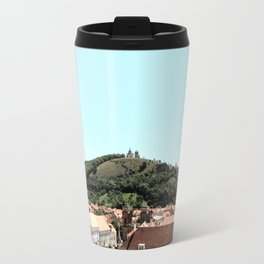 Church on a Hill Travel Mug