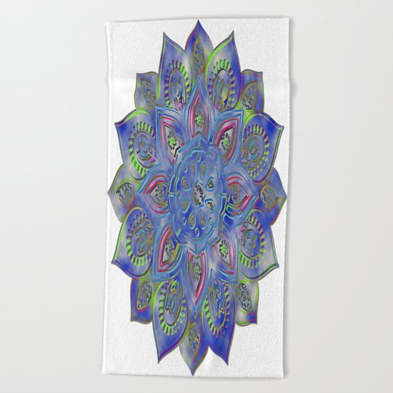LOTUS glow Beach Towel