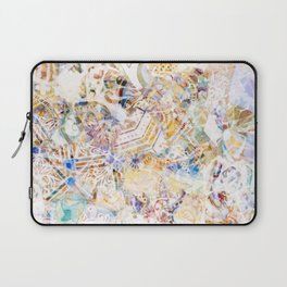 Mosaic of Barcelona XI Laptop Sleeve