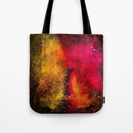 Amber and Rose in Abstract by Jeanpaul Ferro Tote Bag