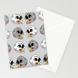 Skulls all Around Stationery Cards