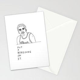 Otis Birdsong Stationery Cards