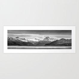 Mount Cook Panorama Art Print