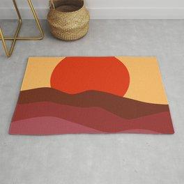 Sunset In Tuscany Rug