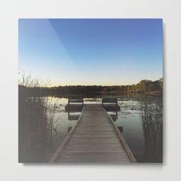 Sunfish Lake Metal Print