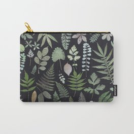 ferns + leaves Carry-All Pouch