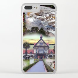 The Regions of Rotorua and Taupo  Clear iPhone Case