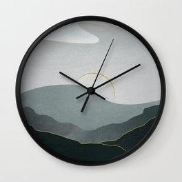 Minimal Landscape 08 Wall Clock