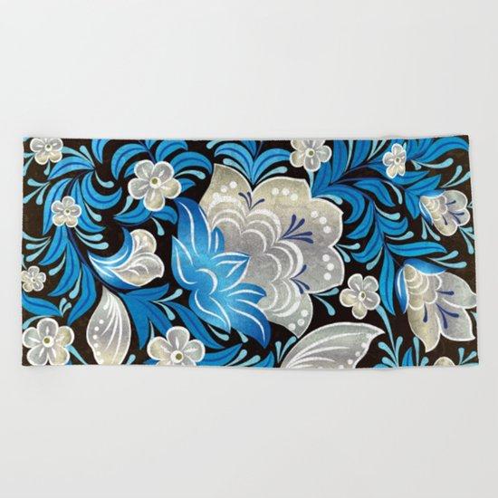 Shabby flowers #7 Beach Towel