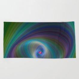 Elliptical Eye Beach Towel