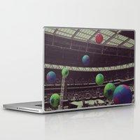 coldplay Laptop & iPad Skins featuring Coldplay at Wembley by Efua Boakye