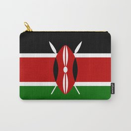 Kenya Flag Carry-All Pouch