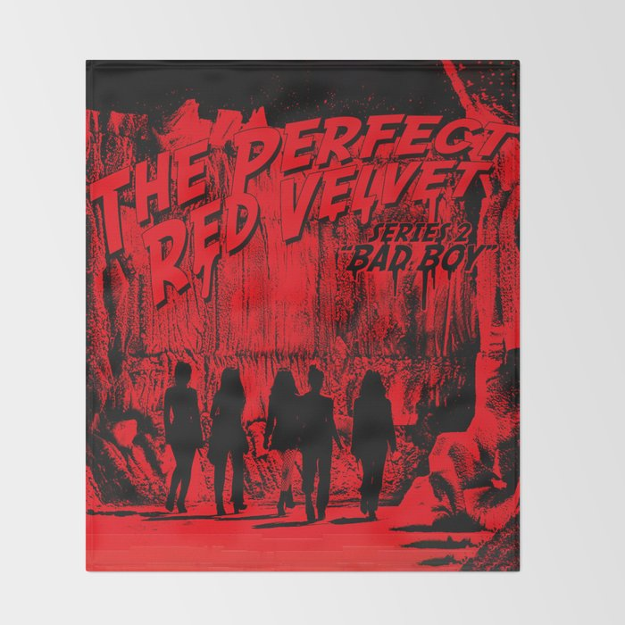 The Perfect Red Velvet Bad Boy Throw Blanket By Ikpopstore Society6