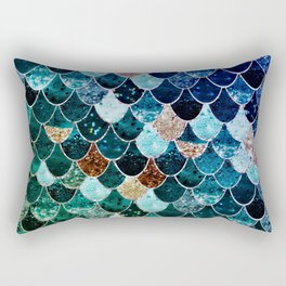 REALLY MERMAID TIFFANY Rectangular Pillow
