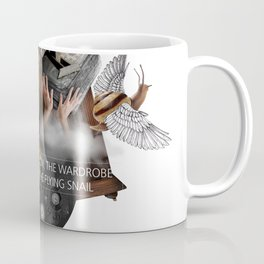 THE LION, THE WARDROBE AND THE FLYING SNAIL (Totem of the Lion) Coffee Mug