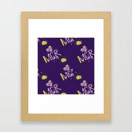 Mor.pattern Framed Art Print