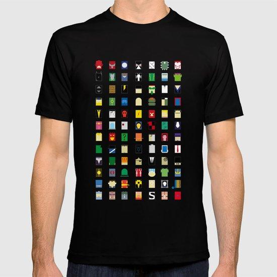 Minimalism Villains T-shirt