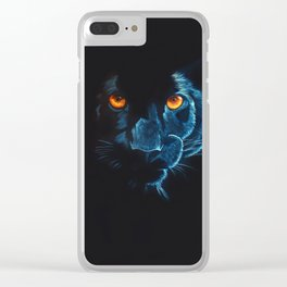 Mistress of the night Clear iPhone Case