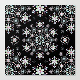 Snowflake Lace Canvas Print