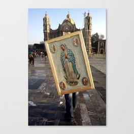 Guadalupe pilgrim Canvas Print