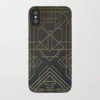 art deco iPhone & iPod Cases featuring Art Deco by Chris Viel