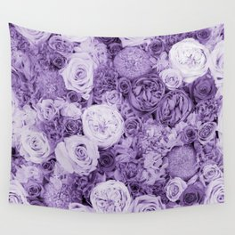 bouquet ver.purple Wall Tapestry